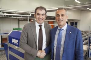 Raffaele Benedetti e Cristian Moretti