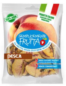 Pesca, mela, prugna, albicocca, pera e melone sono le nuove referenze Semplicemente Frutta di Euro Company