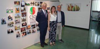 Paolo Bruni (presidente Cso Italy), Simona Rubbi (responsabile Affari Internazionali Cso Italy), Paolo De Castro (vice presidente della Commissione Agricoltura e Sviluppo Rurale del Parlamento Europeo)