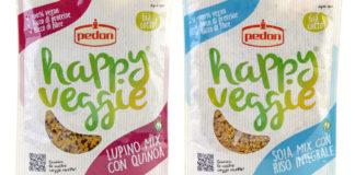 Lupino mix e Soia mix, nella gamma Happy Veggie di Pedon