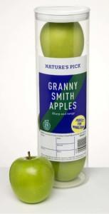 La speciale confezione di mele Granny Smith di Aldi per Wimbledon
