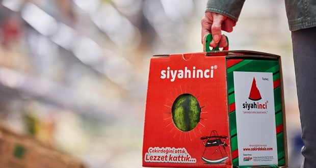 Il pack per l'anguria Watermelon Dream di Mondi Corrugated Packaging