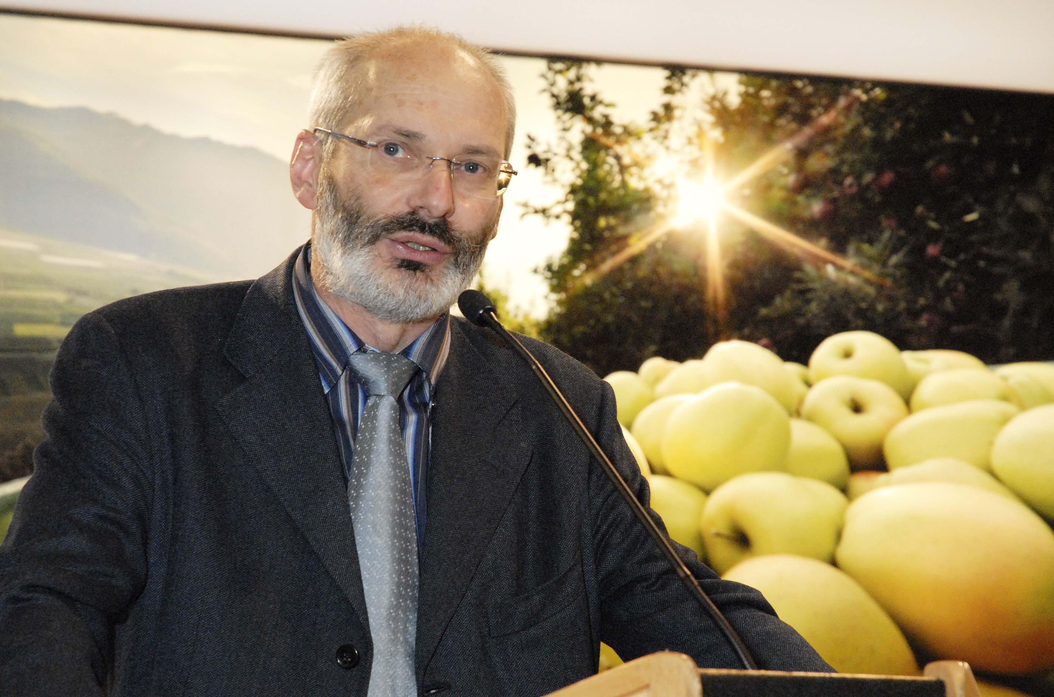 Alessandro Dalpiaz, direttore di Assomela e membro del board di GlobalG.A.P.
