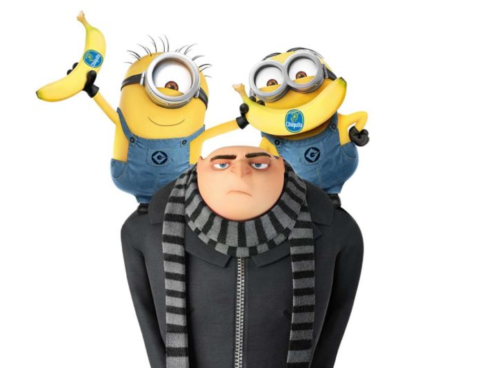 Chiquita e i Minions: arriva Cattivissimo Me 3