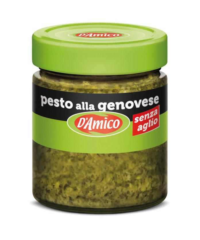 Mini pesto senza aglio alla genovese D'Amico