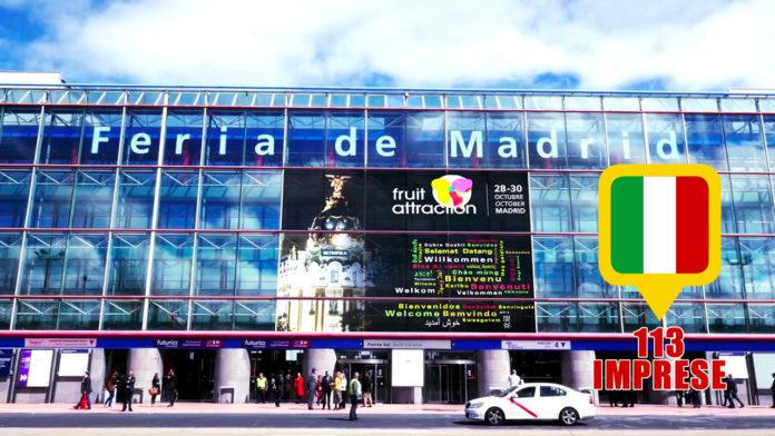 L'undicesima edizione di Fruit Attraction ospiterà a Madrid 1800 aziende e 90 mila professionisti