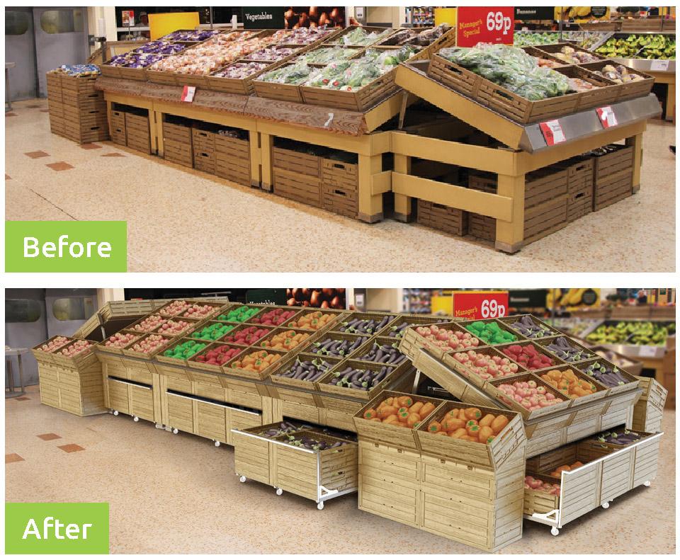 le soluzioni effetto legno di polymer logistics a fruit