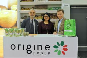 Alessandro Zampagna (nella foto da sinistra), Reen Nordin e Alberto Garbuglia (consigliere delegato Origine Group)