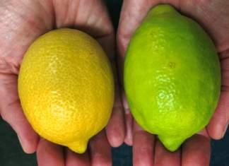 Limoni verdi di Tesco