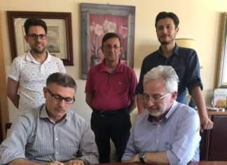 Firma del Protocollo di impegno per l'eticità e la legalità del lavoro nel territorio: Coa, Oranfrizer, Fai-Cisl e Flai-Cgil
