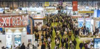 I padiglioni della fiera Fruit Attraction a Madrid