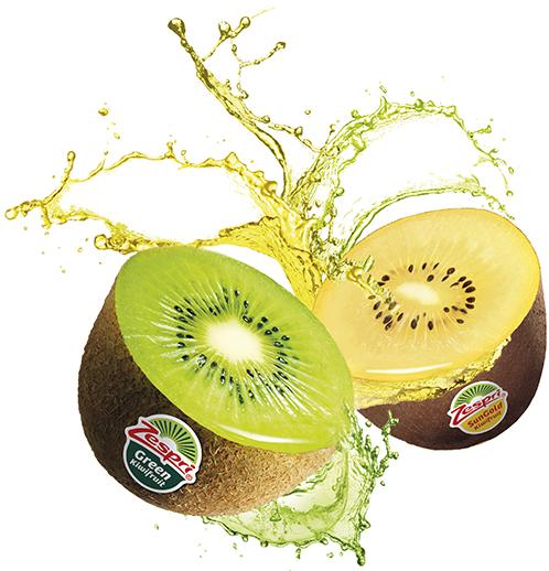 Il kiwi Zespri nelle varietà Green e SunGold è un vero superalimento