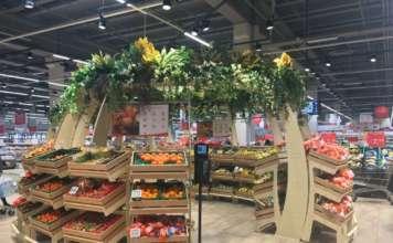 Auchan Torino ortofrutta Igloo