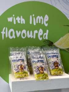 I gusti puntano anche a Oriente nella linea DeLupinix degli snack di lupini