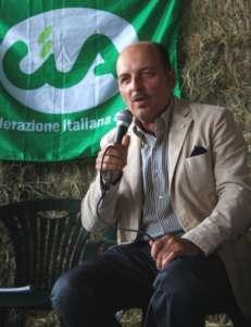 Dino Scanavino, è il presidente di Cia-Agricoltori Italiani