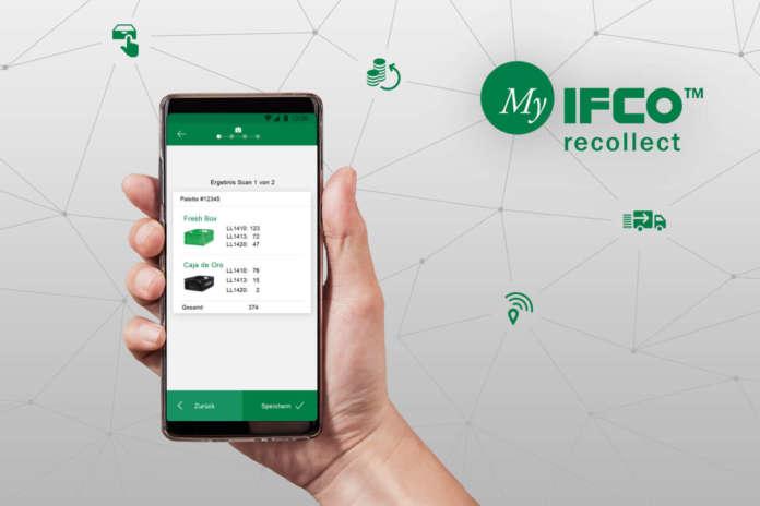 La nuova app MyIFCO recollect che sarà presentata a Fruit Logistica, a Berlino