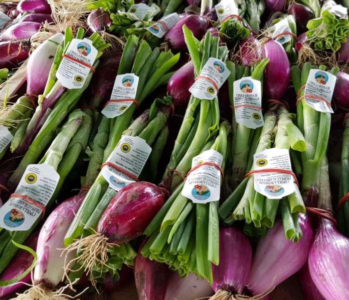 La Cipolla Rossa di Tropea Calabria Igp è uno dei prodotti alimentari top della regione