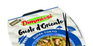 La Zuppa Tokyo della nuova gamma DimmidiSì Gusto d'Oriente della Linea Verde. Con funghi shiitake e alghe wakame