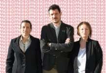 Il nuovo top management di Sama spa: Federica Fiore, Michele Sallustio e Deborah Chilin