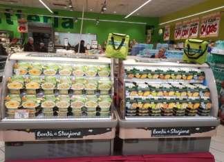 La vasta gamma dei prodotti a marchio Bontà di stagione al Todis di Ciampino, in provincia di Roma