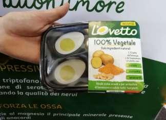 L'Ovetto, l'uovo sodo vegan è una novità di Martini presentata a Fruit Logistica, a Berlino
