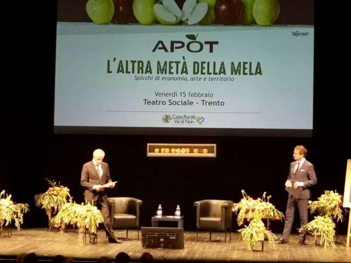 L'intervento del presidente Ennio Magnani al convegno annuale dell'Associazione produttori ortofrutticoli trentini