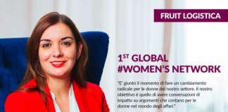 Julie Escobar, una delle organizzatrici del Global Women's Network, alla sua prima edizione a Fruit Logistica