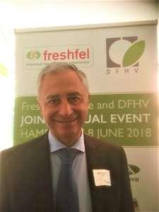 Salvo Laudani: è membro del Consiglio di Fruitimprese, nonché vicepresidente di Freshfel