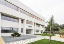 Headquarters del Grupo Alimentario Citrus, a Valencia, in Spagna