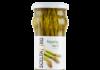 Gli asparagi verdi al naturale, conservati in vasetto di vetro, di Sama, brand Scelta Oro