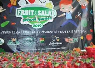Il progetto Fruit and Salad-School Games è giunto alla terza edizione e coinvolge sei organizzazioni di produttori ortofrutticoli