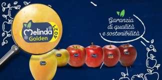La mela Melinda, dall'inconfondibile Bollino blu, è la prima marca riconosciuta dal 98% degli italiani