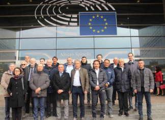 Audizione ufficiale al Parlamento Ue, con il presidente del Consorzio Melinda, Michele Odorizzi, che ha illustrato il progetto