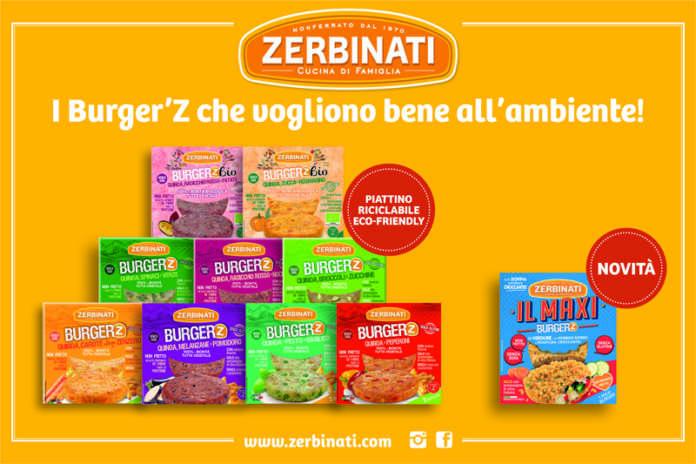 Il nuovo packaging più sostenibile dei Burger'Z di Zerbinati
