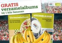 Le banane fair trade sono il prodotto più venduto nella catena di supermercati olandese Plus