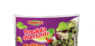 La limited edition di DimmidiSì L'Insalata Divertente, nata dalla collaborazione tra La Linea Verde e Gardaland Resort