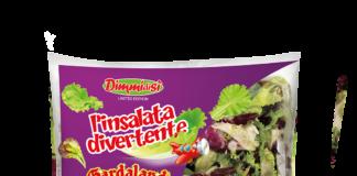 La limited edition di DimmidiSì L'Insalata Divertente, nata dalla collaborazione tra La Linea Verde e Gardaland Resort