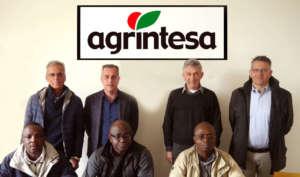 La delegazione della cooperativa togolese in visita da Agrintesa