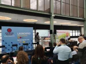 Milena Poledica, agronoma e ricercatrice del Gruppo, al Global Berry Congress 2019, a Rotterdam