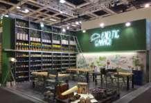 Lo stand allestito da Mc Garlet a Fruit Logistica 2019, a Berlino
