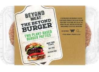 """La """"carne"""" di Beyond Meat conquista consensi in tutto il mondo e piace anche in Italia"""