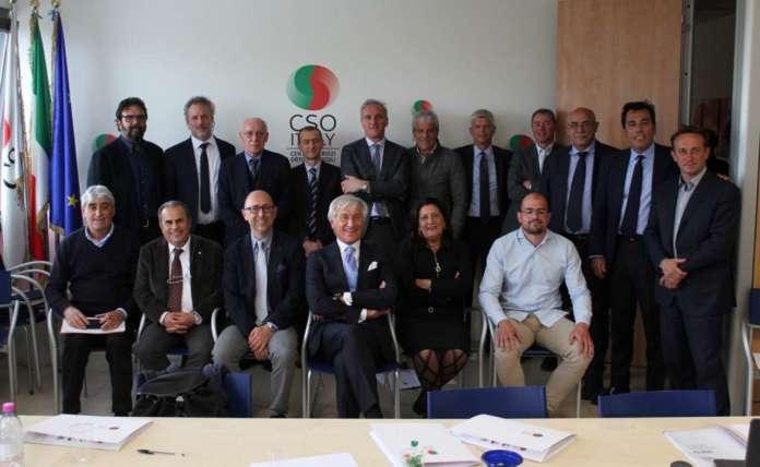 Il nuovo consiglio di amministrazione di Cso Italy eletto dai soci