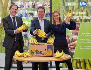Plus vende banane del commercio equo e solidale dal 2010