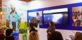 Andrea Bertoldi, direttore generale di Brio, illustra le finalità del progetto legato all'ananas Dolcetto bio