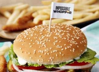 """Impossible Whopper è preparato con la """"carne"""" hi-tech di Impossible Foods, startup premiata al Ces di Las Vegas per l'innovazione"""