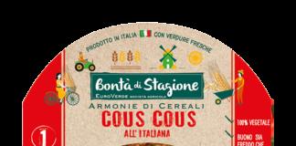 La Linea Armonie di cereali con le nuove ricettazioni stagionali primavera-estate a marchio Bontà di Stagione di Euroverde