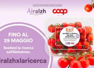 """Sono decine finora i prodotti selezionati da Coop con lo slogan della campagna """"Non ti scordar di te"""" in aiuto alla ricerca per i malati di Alzheimer"""