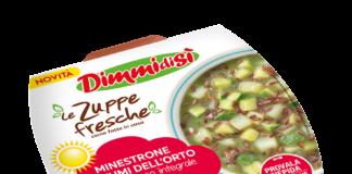 Il Minestrone Profumi dell'Orto con Riso rosso integrale varietà Ermes, una novità Dimmidisì, brand della Linea Verde, per l'estate