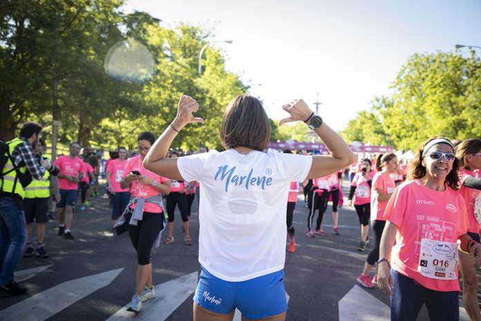 Le tre runner e influencer spagnole commenteranno per Marlene la Carrera de la Mujer sui social network
