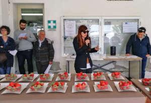 La responsabile comparto Fragola di Geoplant Vivai, Lucilla Danesi